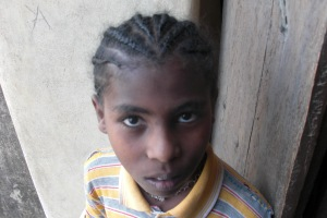 Child in Gonder, Ethiopia