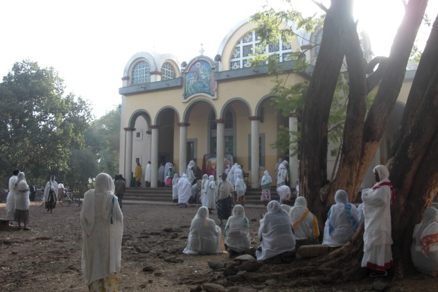 Ethiopian Christians at Bahir Dar