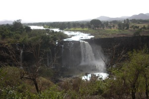 Headwaters of the Nile in Ethiopia