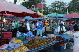 Street Fair in Prachuap Kiri Kan, Thailand