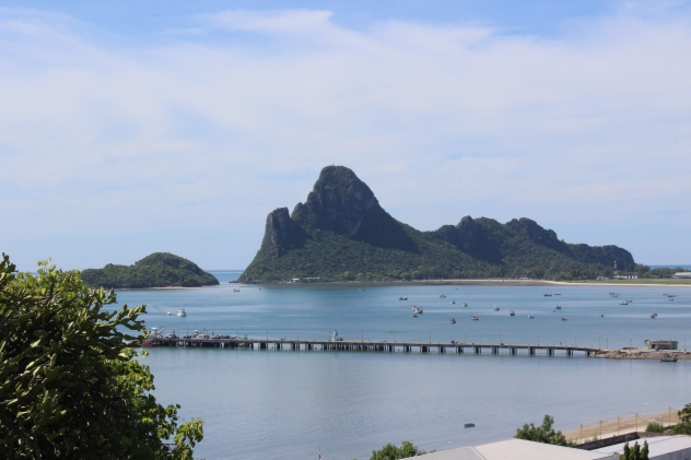Bay at Prachuap Kiri Kan, Thailand
