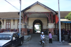 Old Train Station in Songkhla, thailand