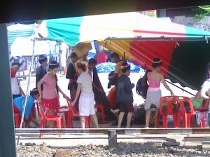 Sunday festivities in Isaan, Thailand