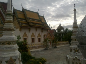 Buddhist Temple in Roi Et, Thailand