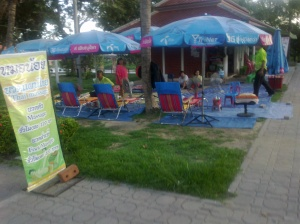 Massage in the Park