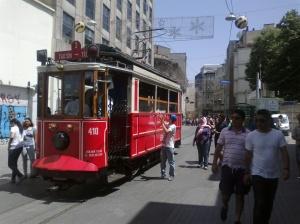 Pedestrian Mall near Taksim Square, Istanbul