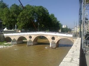 Roman Bridge in Sarajevo, Bosnia