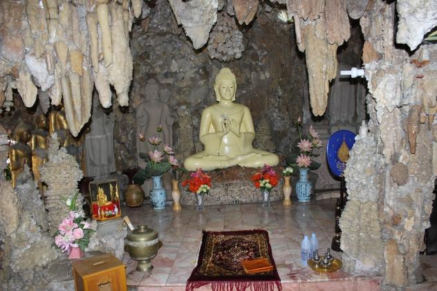 Cave temple Wat Payap in Korat/N.Ratchasima, Thailand
