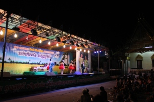 Old-time 'likay' show in Korat/N.Ratchasima, Thailand
