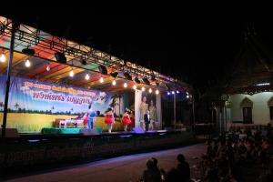 Old-time 'likay' show in Korat/N.Ratchasima, Thailand