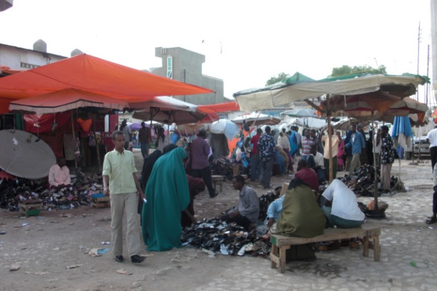 Street Market in Somaliland
